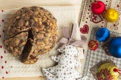 Torta de los christamas de Pangiallo Fotos de archivo
