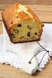 Fruta y torta de las nueces Imagen de archivo