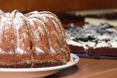 Torta de mármol Fotos de archivo libres de regalías