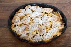 Torta de maçã caseiro foto de stock royalty free