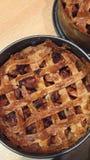 Torta de maçã caseiro Fotografia de Stock Royalty Free