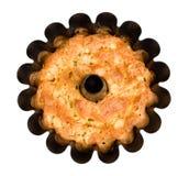 Torta de maçã do Close-up Fotografia de Stock Royalty Free