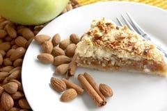 Torta de maçã fresca Imagem de Stock