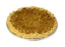 Torta de maçã superior da migalha Fotografia de Stock
