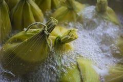 Torta de maíz dulce Fotos de archivo