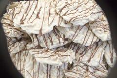 Torta de Macarons - dulce - postre - caramelo - dulces - golosina - chucher?a fotografía de archivo