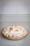Torta de Meringue de limão Foto de Stock Royalty Free