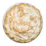 Torta de meringue de limão Foto de Stock