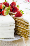 Torta de miel Foto de archivo