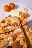 Torta de Pascua Foto de archivo libre de regalías