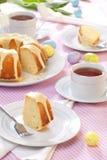 Torta de Pascua del limón Fotografía de archivo libre de regalías
