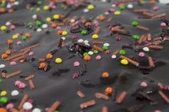 Torta de Pascua que adorna cerca para arriba Foto de archivo libre de regalías
