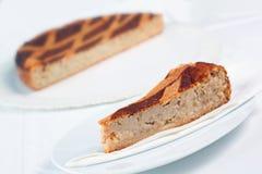 Torta de Pastiera de Ricotta e de grão Foto de Stock Royalty Free