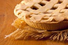Torta de Rhubarb Imagens de Stock Royalty Free