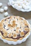 Torta de Smore Imagen de archivo libre de regalías