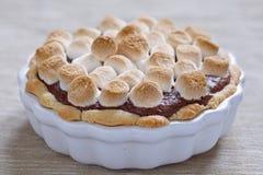 Torta de Smore Foto de archivo libre de regalías