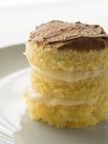 Torta de Three-stody Fotografía de archivo