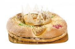 Torta de tres reyes Imagen de archivo libre de regalías