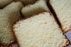 Torta de Vanillla Fotografía de archivo libre de regalías
