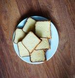 Torta de Vanillla Fotos de archivo