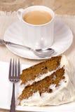 Torta de zanahoria 008 Foto de archivo libre de regalías