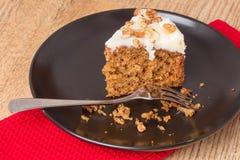 Torta de zanahoria Imagenes de archivo
