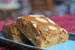 Torta de zanahoria Imagen de archivo