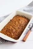 Torta de zanahoria cuaresmal Foto de archivo