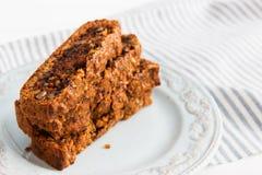 Torta de zanahoria cuaresmal Imagen de archivo