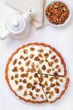 Torta de zanahoria hecha en casa Fotos de archivo libres de regalías