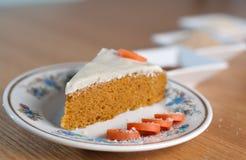 Torta de zanahoria II Foto de archivo