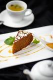 Torta de zanahoria orgánica Fotografía de archivo libre de regalías