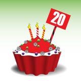 Torta del aniversario Imagen de archivo libre de regalías