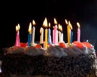 Torta del aniversario Fotografía de archivo libre de regalías