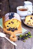 torta del arándano Fotos de archivo