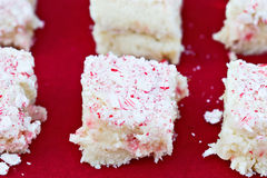 Torta del bastón de caramelo Fotos de archivo libres de regalías