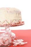 Torta del bastón de caramelo de hierbabuena imágenes de archivo libres de regalías