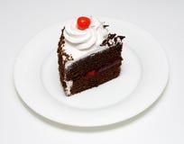 Torta del bosque negro Imagen de archivo libre de regalías