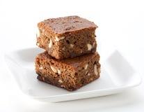 Torta del brownie Immagine Stock