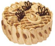 Torta del caramelo Imagenes de archivo