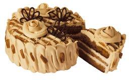 Torta del caramelo Fotografía de archivo