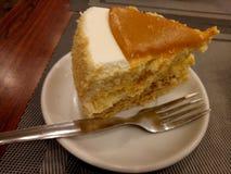 Torta del caramelo imágenes de archivo libres de regalías