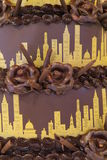 Torta del Chicago Fotografia Stock Libera da Diritti