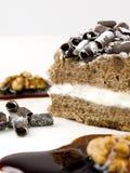 Torta del chocolate Foto de archivo