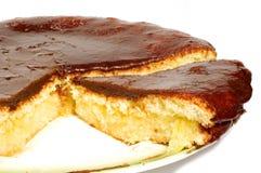 Torta del cioccolato Fotografie Stock