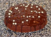 Torta del cioccolato Fotografia Stock