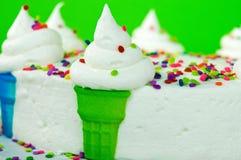 Torta del cono de helado fotos de archivo libres de regalías