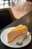 Torta del crespón Foto de archivo libre de regalías