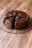Torta del ` de Praga del ` del chocolate Foto de archivo libre de regalías