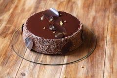 Torta del ` de Praga del ` del chocolate Fotografía de archivo libre de regalías
